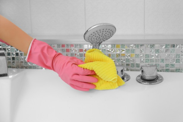 Chicago Apartments, Shower Cleaning Tips
