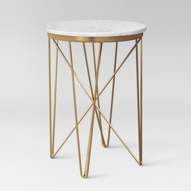 Chicago Apartments, Target Home Decor, Marble Top Round Table