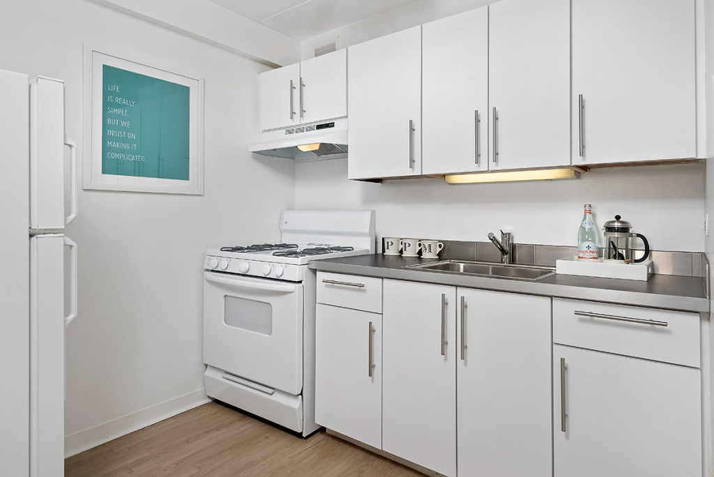 Chicago Apartments, Lakeview, 500 W Belmont Kitchen