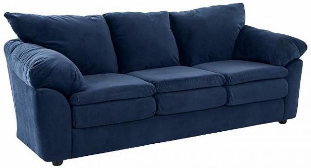 Chicago Apartments, Amazon Ravenna Home Decor, Darian Velvet Oversized Sofa