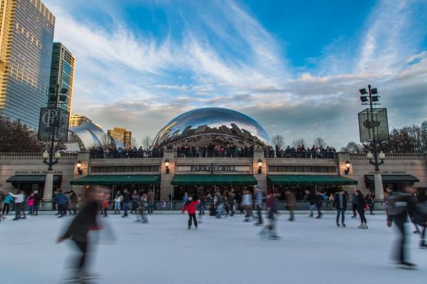 Chicago Apartments, Holiday Events, Millennium Park