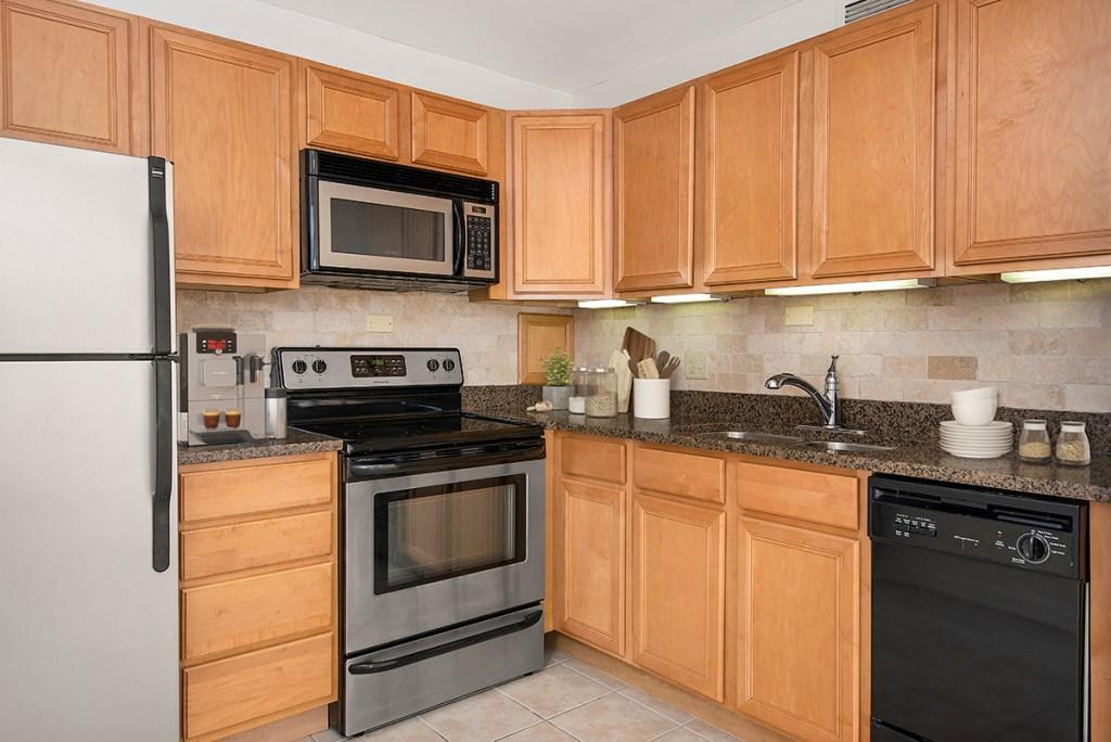55 W Chestnut Kitchen Interior Chicago Apartments River North - 4