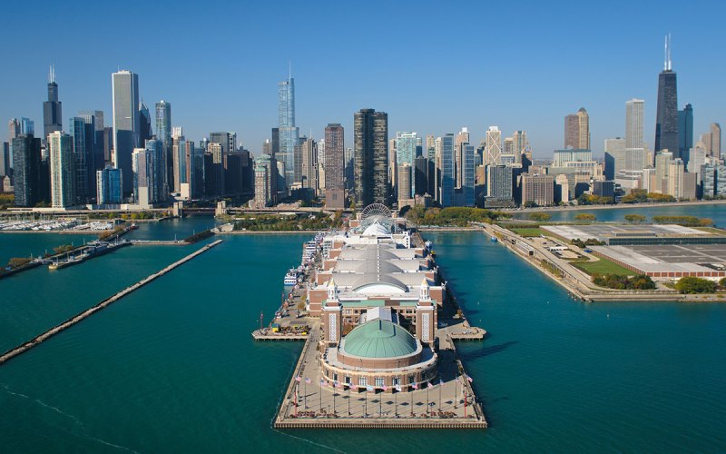 Chicago Apartments, River North, Navy Pier