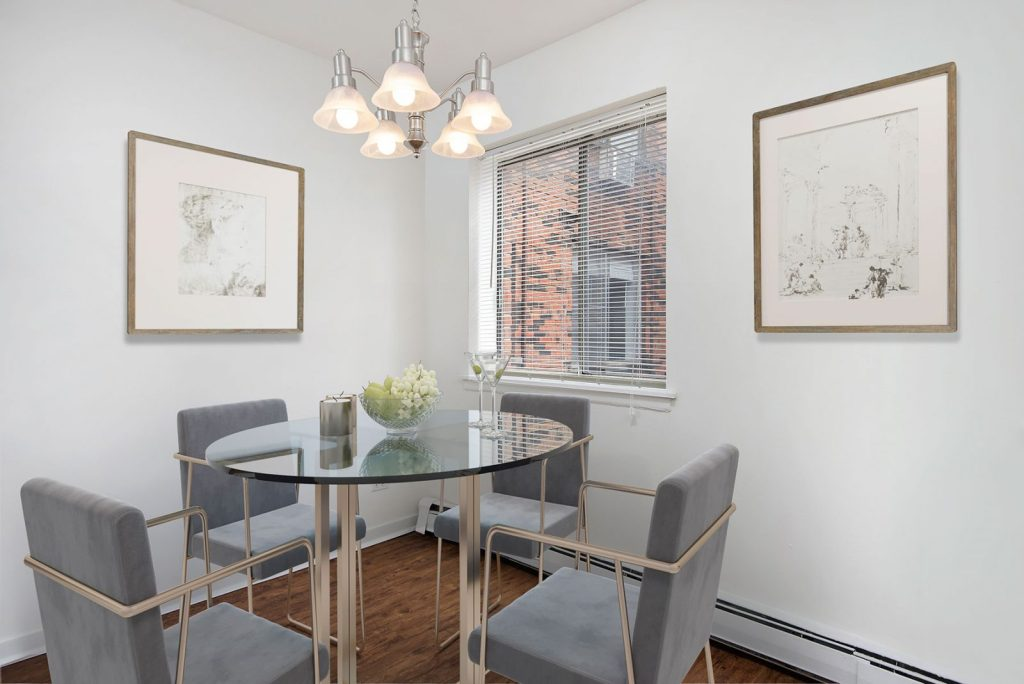 Chicago Apartments, Lakeview, 544 W Melrose Dining Room