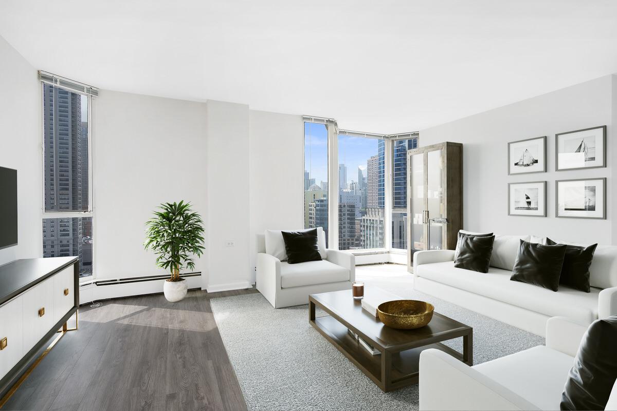 minimalist apartment makeover