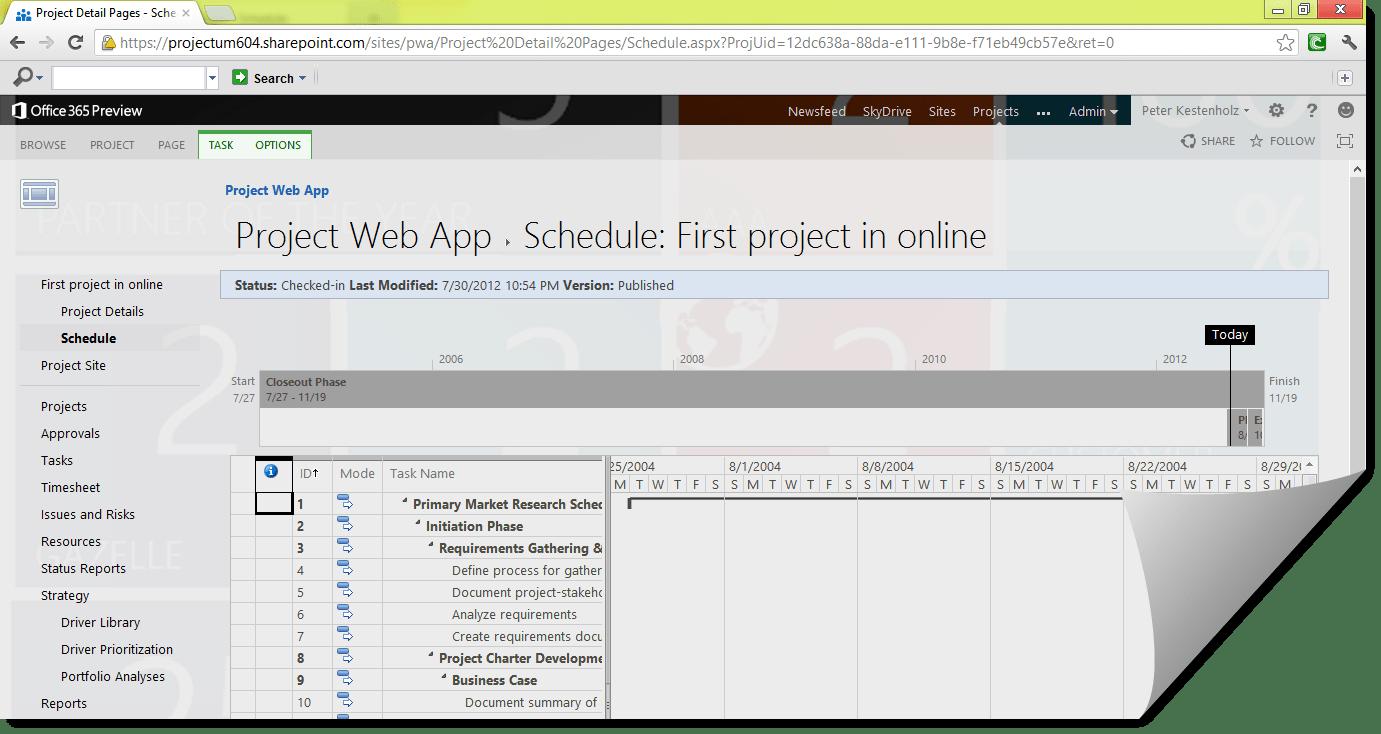 Project Server 2013 versus Safari, Chrome and Firefox