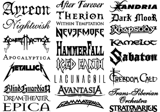 Bands we Play