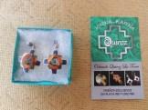 Boucles d'oreille Aymara en argent 25€
