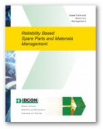 IDCON Reliability Based Spare Parts Materials Management Book