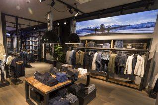 JB Store Dusseldorf, instore visuals