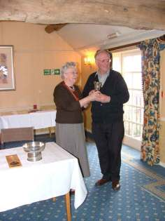 John Dahl receives the Urwick Cup