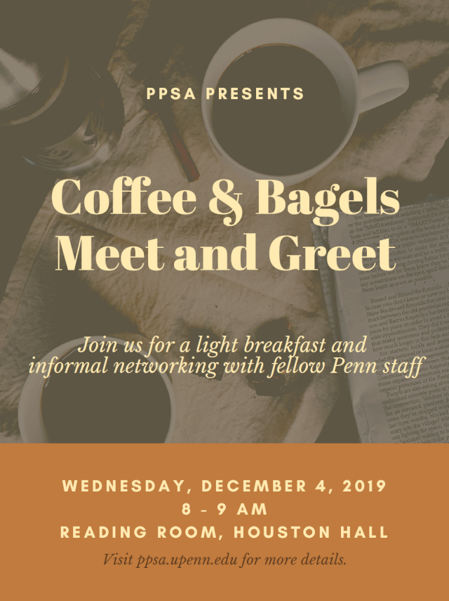 Register for Coffee and Bagels