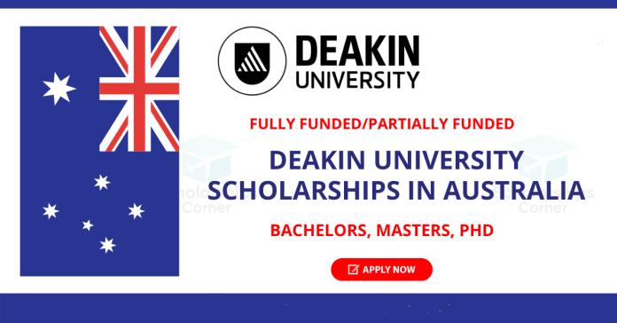Deakin University Scholarship in Australia 2022