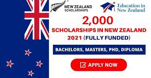 2,000 Scholarships in New Zealand 2021