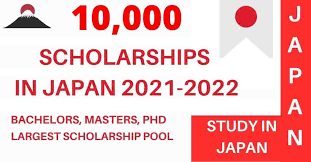 10,000 Japanese Scholarships 2021-2022