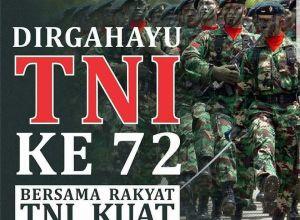 Dirgahayu TNI ke-72