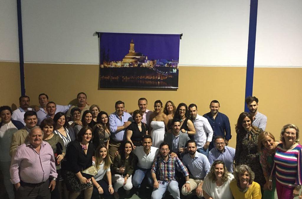 Juan Bueno participa en un encuentro con afiliados en Cantillana