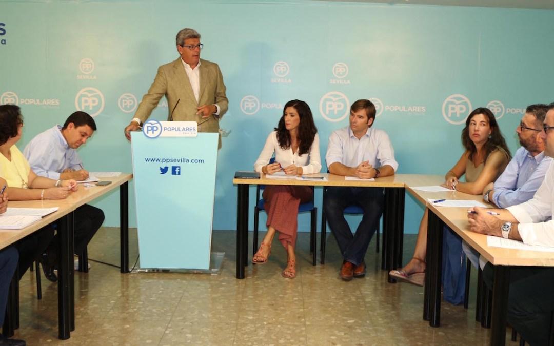 El PP de Sevilla propone mejoras para las conexiones de los municipios del Bajo Guadalquivir con la N-IV