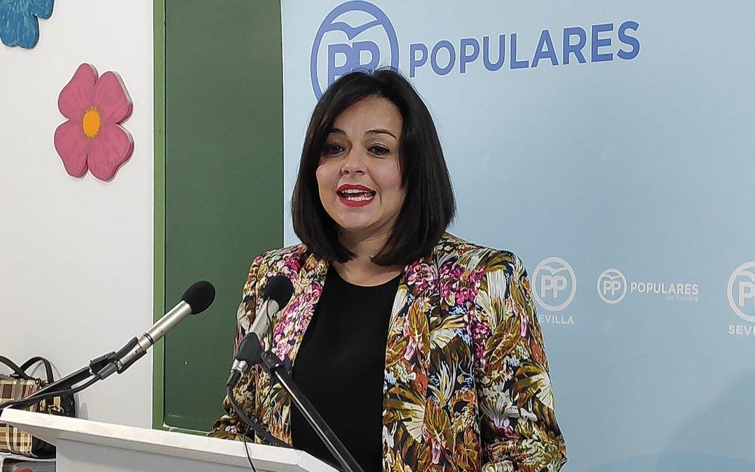 """Virginia Pérez: """"La democracia llegará a Marinaleda de la mano del PP y de Cleo Pérez"""""""