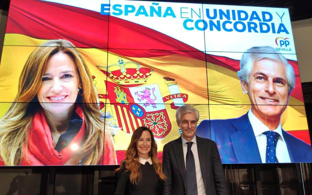 """Adolfo Suárez y Teresa Jiménez-Becerril hacen un llamamiento a la unidad y la concordia """"para garantizar el futuro de España"""""""
