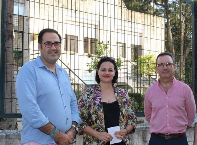 """Virginia Pérez: """"Está demostrado que con un Gobierno del PSOE en la Junta no es posible una Educación de primera"""""""