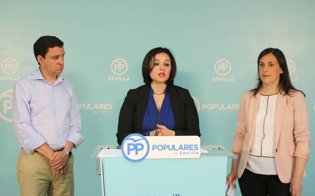 """Virginia Pérez: """"El PP mantiene su compromiso con el Hospital Militar de Sevilla"""""""