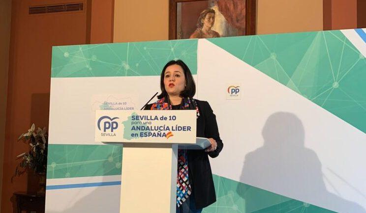 El PP de Sevilla lamenta que el PSOE sevillano se haya arrodillado ante el vergonzoso 'mobbing político' del gobierno de Sánchez a Andalucía