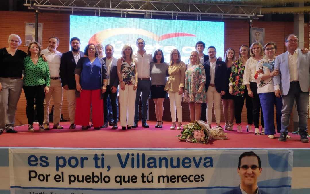 """Virginia Pérez: """"Los municipios del Aljarafe volverán a la senda de la buena gestión con el Partido Popular"""""""