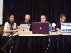 Techlandia crew: Alison, Curt, Jon and Jeremy