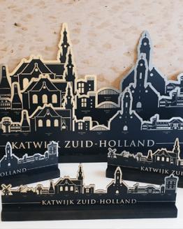 Skyline van Katwijk