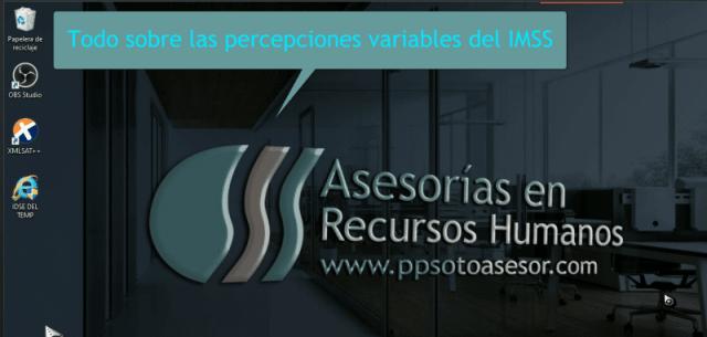 1.2 Curso *gratis Percepciones variables Imss