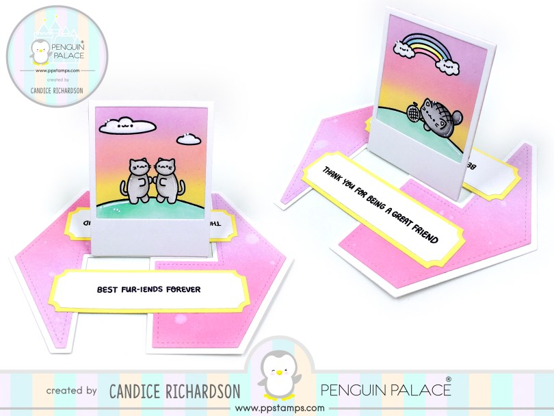 Penguin Palace Stamps challenge#1