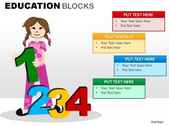 Blocks PowerPoint Presentation Slides