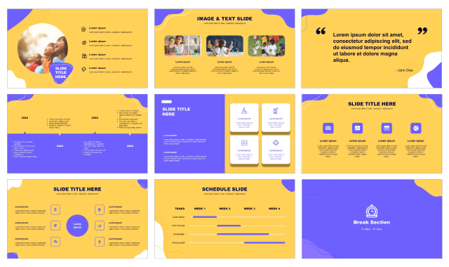 Education Free PPT template