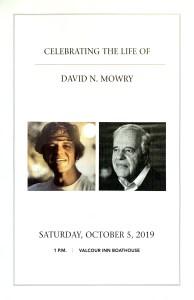 David mowry program