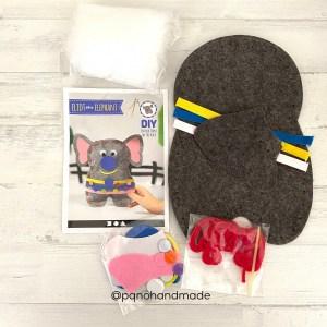 kit coser elefante