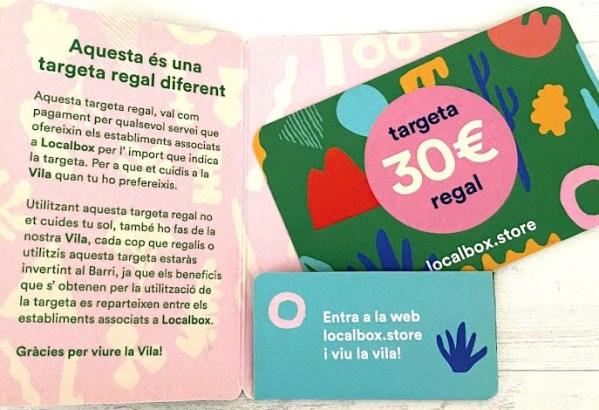 tarjeta localbox 30 regalo