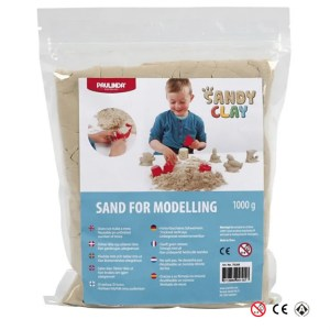 Arena Sandy Clay para modelar y jugar manualidades