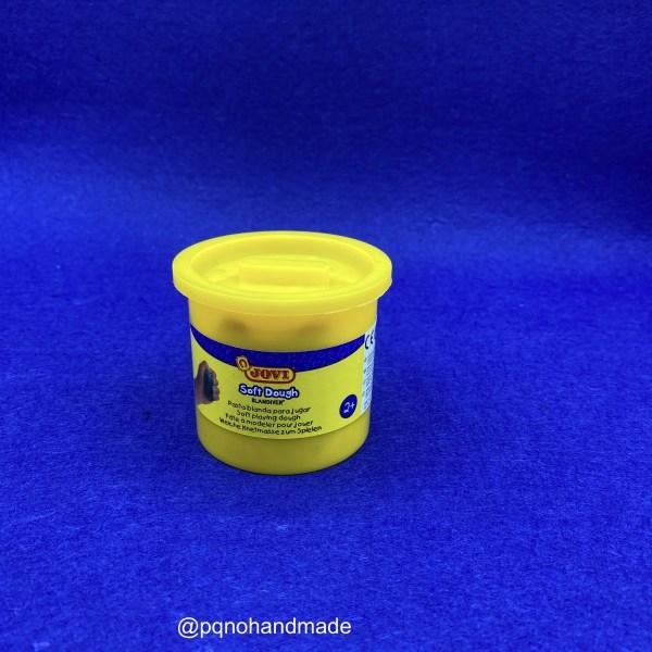 Plastilina Soft Dough amarillo para modelar y jugar manualidades