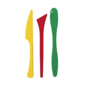 set 3 herramientas para modelar manualidades