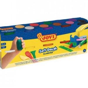 Plastilina Soft Dough 10 colores para modelar y jugar