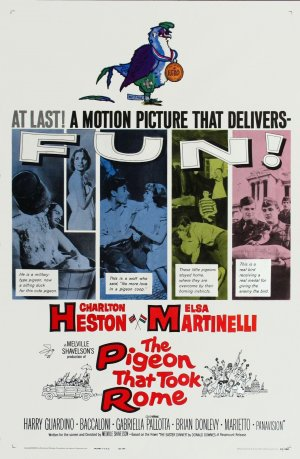 The Pigeon That Took Rome Movie Poster