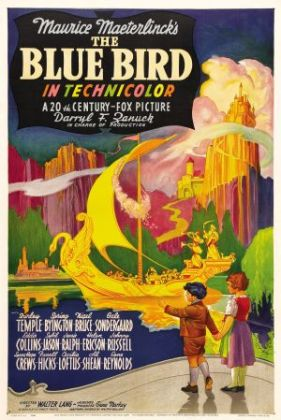 Shirley Temple The Blue Bird Movie Poster