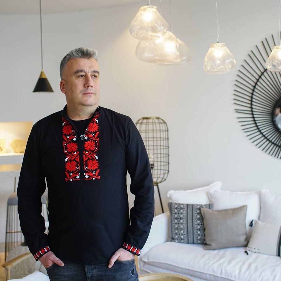 Наско Лазаров в ролята на модел за 3-ти Март