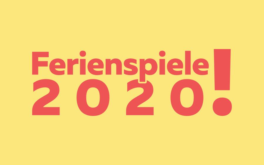 Ferienspiele 2020 Logo