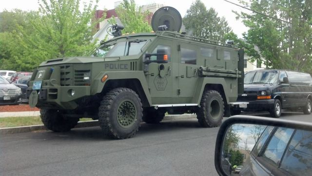 Updated - Pics: Armored Tank Spotted In NH - The Police State Continues To Unfold