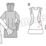 Выкройка Burda №2361 — Карнавальные костюмы
