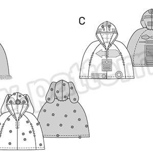 Выкройка Burda №2368 — Карнавальный костюм