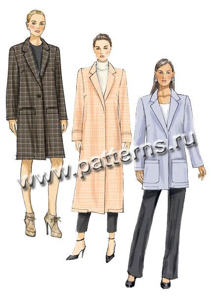 Базовое пальто