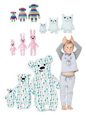 Выкройка Burda №6303 — Мягкие игрушки